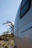 Desert Airstream royalty free stock photo