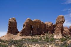 Desert american landscape Stock Image