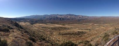 The Desert in Arizona. A Panorama of the desert in Arizona Royalty Free Stock Photo