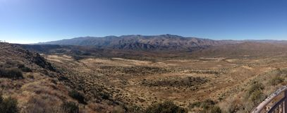 The Desert in Arizona Royalty Free Stock Photo