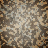 Desert army camouflage background stock illustration