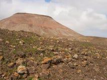 The desert around the Calderato mountains on Fuerteventura Stock Image