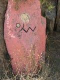 Desert art, Chloride, Arizona. Rock murals outside of Chloride, Arizona Royalty Free Stock Images
