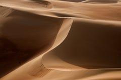 Desert Art. This image was taken in Liwa Desert, Abu Dhabi Royalty Free Stock Photography