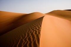 Desert Art. This image was taken in Liwa Desert, Abu Dhabi Stock Photography