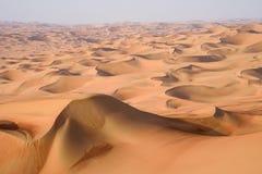 Desert Art. This image was taken in Liwa Desert, Abu Dhabi Stock Photos
