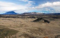 Desert in the Askja region Royalty Free Stock Photography