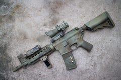 Desert Assault rifle Stock Image