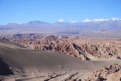 Desert Atacama. View of the Atacama Desert , Chile Stock Image