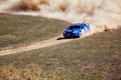 Desert autorally Royalty Free Stock Images