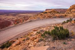 Desert Backcountry Road Royalty Free Stock Photography