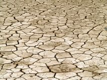 Desert Background. A background of dry, cracked earth royalty free stock image