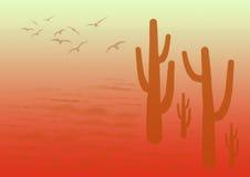 Desert background Stock Image
