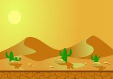 Desert background Stock Photos