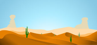 Desert background Stock Photo