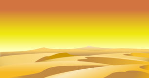 Desert background Royalty Free Stock Image
