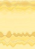 Desert background. Seamless yellow desert background, illustration royalty free illustration