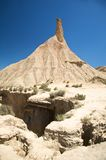 Desert of bardenas reales Royalty Free Stock Photos