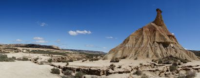 The desert of the bardenas reales Stock Photo