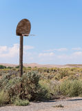 Desert basketball Stock Photography