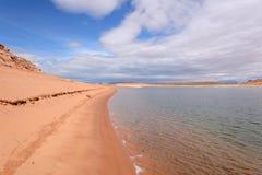 Desert Beach Stock Image