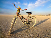 Desert Bike Royalty Free Stock Image