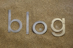 Desert blog Royalty Free Stock Photography