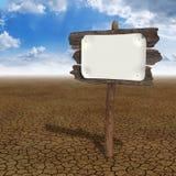 Desert board Stock Images