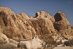 Desert Boulders. From Indian Canyon from Joshua Tree National Park in Indian Canyon stock photography