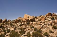 Desert Boulders Stock Image