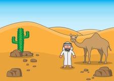 Desert buddy Stock Images