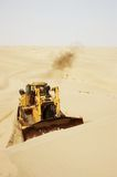 Desert bulldozer Stock Photos