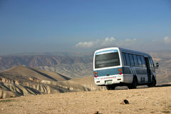 Desert bus Royalty Free Stock Photography