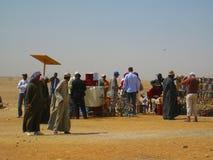 Desert Cairo Egypt Stock Photo