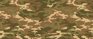 Desert Camouflage Pattern Stock Photo