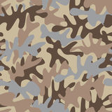Desert camouflage pattern Stock Image