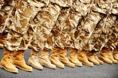 Desert camouflage uniform Stock Images