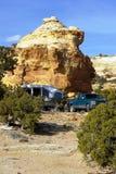Desert Camp Stock Image