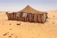 Desert Camp Stock Image
