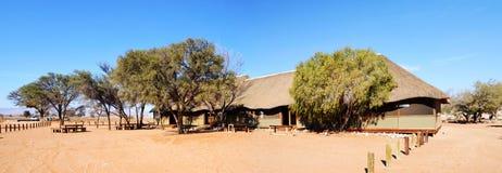 Desert Camp in Namib. Near Dune 45, Africa Stock Image