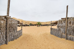 Desert Camp Oman Royalty Free Stock Images