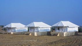 Desert Camp Stock Photo