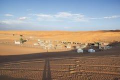 Desert Camp Wahiba Oman Stock Image