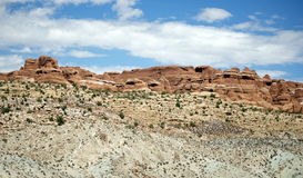 Desert Canyon Royalty Free Stock Photography