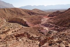 Desert canyon Stock Photography