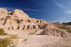 Desert Canyon in the Badlands Royalty Free Stock Photos