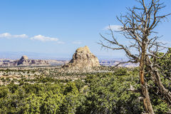 Desert Canyons. Somwhere off I-70 neat the Colorado Utah border Royalty Free Stock Photography