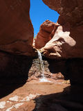 Desert Cascade Stock Photography