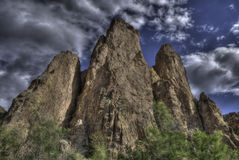 Desert cathedral mountains Royalty Free Stock Image