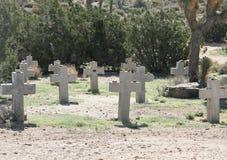 Desert Cemetery Stock Photos